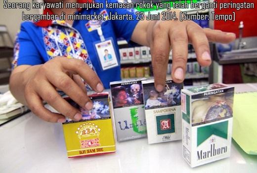 Berikut Ini 5 Gambar Peringatan Bahaya Merokok Di Bungkus Rokok