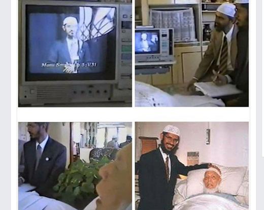 Sikap Tawadhu' yang Patut Dicontoh; Ketika Syaikh Ahmed Deedat Nonton Video Dr Zakir Naik