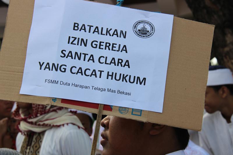 Tolak Berdirinya Gereja Terbesar di Asia Tenggara, Ulama Undang Umat Islam Bekasi Raya Demo Walikota Bekasi