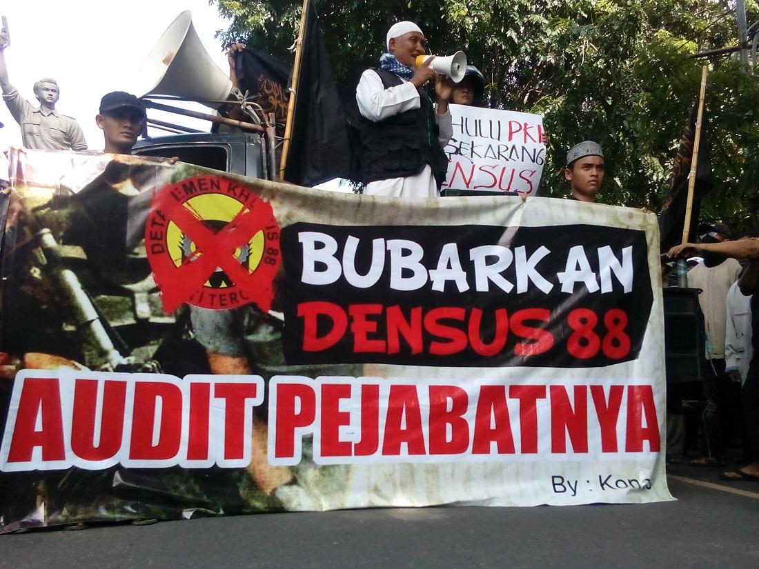Hadirilah! Undangan Aksi Bubarkan Densus 88 Di Beberapa Kota Besar