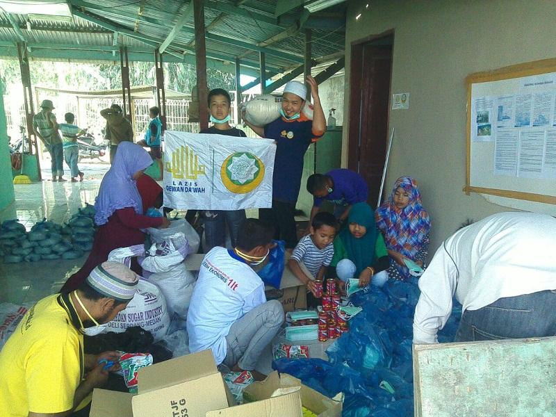 Sembako Pelipur Lara Korban Sinabung