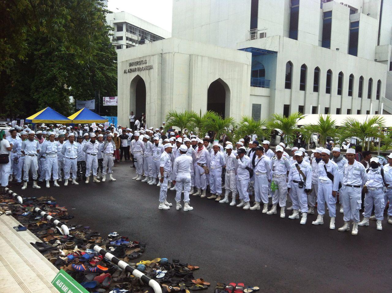 Aksi Bela Ulama Keamanan Laskar Fpi Panjimas