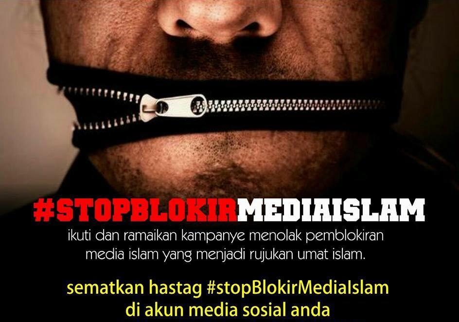 #StopBlokirMediaIslam Jadi Trending Topic Nomor Wahid di Indonesia
