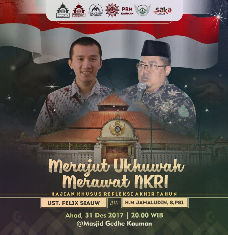Ustadz Felix Siauw Tutup Tahun Di Masjid Gedhe Kauman