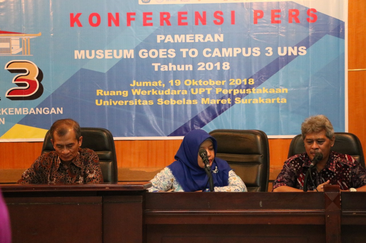 "UNS Kembali Gelar ""Museum Goes to Campus"""